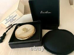 1960s Estee Lauder Pearl Watch Case Compact NEW OLD STOCK Complete WithORIG BOX
