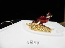 2003 Brilliant Cardinal Estee Lauder Perfume Compact NIBB