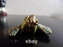 2006 Estee Lauder BEAUTIFUL GLORIOUS PEACOCK Solid Perfume Compact