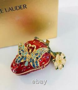 2006 JAY STRONGWATER/Estee Lauder Beyond Paradise STRAWBERRY SURPRISE Solid Perf
