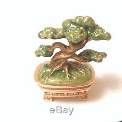 2007 Estee Lauder Jay Strongwater Magnificent Bonsai Tree Solid Compact BOX