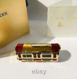 2009 Estee Lauder/ HARRODS HARRODS LONDON TUBE TRAIN Solid Perfume Compact