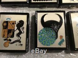 9 Estee Lauder Zodiac Powder Compacts