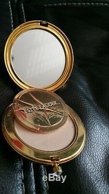 All Estee Lauder Clock Pressed Compact Powder