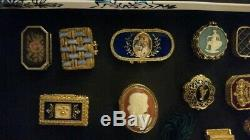 Collectible Perfume Compacts and Trinket Boxes Lot of 15 Estee Lauder and others