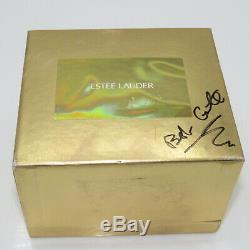 ESTEE LAUDER 2000 Cinderella Coach Solid Perfume Compact AUTOGRAPHED by DESIGNER