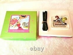 ESTEE LAUDER BEAUTIFUL PARTY SHOES from 2000 SOLID PERFUME COMPACT MIB