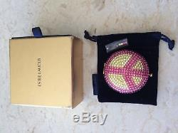 ESTEE LAUDER Crystal PEACE SIGN Pressed Powder Compact Lucidity NEW & RARE