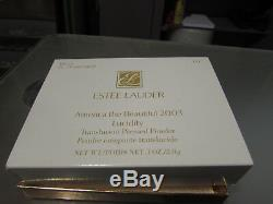 ESTEE LAUDER LUCIDITY COMPACT POWDER THE NORTH STAR NEW With BOX & DUSTBAG BEAR