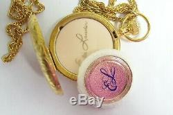 ESTEE LAUDER Powder Compact Necklace