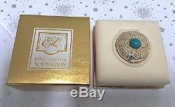 ESTEE LAUDER YOUTH-DEW SCARCE EDITION SOLID PERFUME COMPACT in Orig. BOX, C 1993