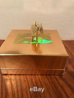 Estée Estee Lauder Dazzling Gold 2000 Shimmering Steer Solid Perfume Compact