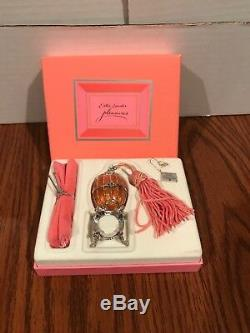 Estée Estee Lauder Pleasures Collectors Egg Solid Perfume Compact