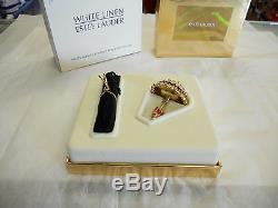 Estee Lauder 2000 Solid Perfume Compact Pretty Parasol Mibb Full