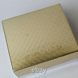 Estee Lauder 2003 Perfume Compact Magnificent Marlin Swordfish MIB White Linen