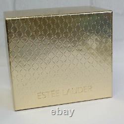 Estee Lauder 2003 Solid Perfume Compact Enamel Precious Peacock MIBB Pleasures