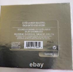 Estee Lauder 2003 Solid Perfume Compact Enchanted Mushroom Jay Strongwater NIB