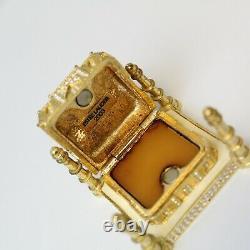 Estee Lauder 2003 Solid Perfume Compact Taj Mahal Both Boxes Beautiful