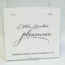 Estee Lauder 2004 Solid Perfume Compact Mississippi Steamboat MIBB Pleasures