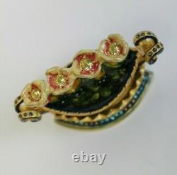 Estee Lauder 2004 Solid Perfume Compact Tulip Quartet Stongwater MIBB Pleasures