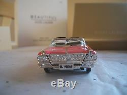 Estee Lauder 2005 PINK LADY CADILLAC PERFUME COMPACT MIBB SPARKLY BEAUTIFUL