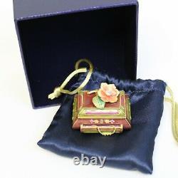 Estee Lauder 2005 Solid Perfume Compact Fragrant Treasures Strongwater MIBB