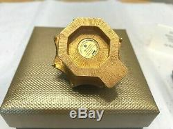 Estee Lauder 2005 Solid perfume compact MIB ENCHANTING PAGODA JAY STRONGWATER