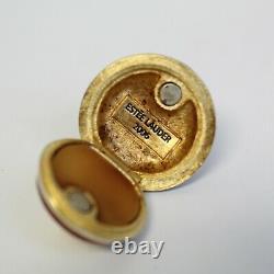 Estee Lauder 2006 Solid Perfume Compact Enamel Spinning Top MIBB Pleasures
