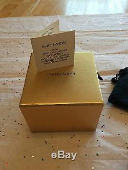 Estee Lauder 2006 Solid perfume compact MIB Rare PRECIOUS BIRDS JAY STRONGWATER
