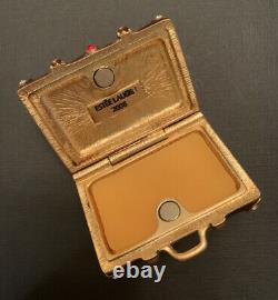 Estee Lauder 2006 White Linen World Traveler Suitcase Solid Perfume Compact