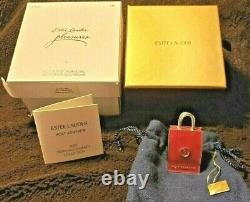 Estee Lauder 2007 Holt Renfrew Shopping Bag Solid Perfume Compact Mibb