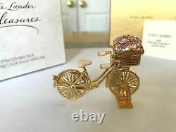 Estee Lauder 2008 Pleasures Solid Perfume Compact Spirited Bike Ride Mib