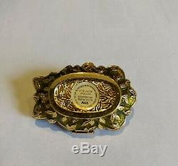 Estee Lauder 2008 (jay Strongwater) Jeweled Flower Solid Perfume Compact