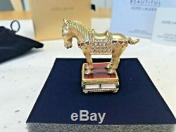 Estee Lauder 2009 Imperial Horse Solid Perfume Compact Mibb Beautiful Perfume