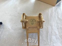Estee Lauder 2009 Solid Perfume Compact Golden Rickshaw Mibb Pleasures