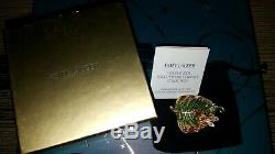Estee Lauder 2009 White Linen Crystal Perfume Compact New Dragonfly Solid NEW