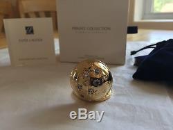 Estee Lauder 2012 Solid Perfume Compact Twinkling Sky Mib Tuberose Gardenia