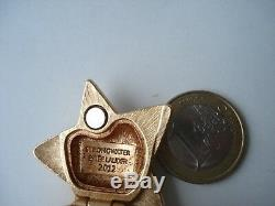 Estee Lauder 2012 solid perfume compact Shooting Star by Strongwater nib