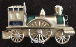 Estee Lauder Antique Train Solid Perfume 2008 Empty Refillable Compact