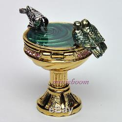 Estee Lauder BIRDBATH Compact for Solid Perfume 2001 Collection New in Box