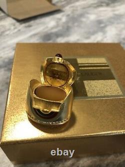 Estee Lauder Beautiful GILDED SPHINX Solid Perfume Compact 2001
