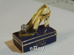 Estee Lauder Beautiful Princess Pump Solid Perfume Compact 2001 Stuart Weitzman