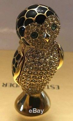 Estee Lauder Beautiful Wise Owl Compact for Solid Perfume Brand New Boxed