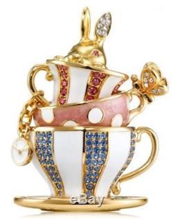 Estee Lauder Beautiful Wonerland Tea Party Perfume Compact