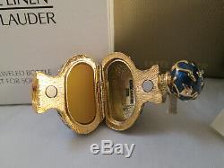 Estee Lauder Bejeweled Bottle 2005 Solid perfume Compact MIB
