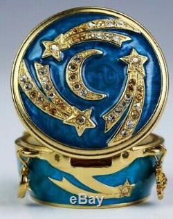 Estee Lauder Celestial Charms Solid Perfume Compact Strongwater Sensuous Nude
