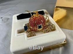 Estee Lauder Cinderella's Coach Solid Perfume Compact, Original Box