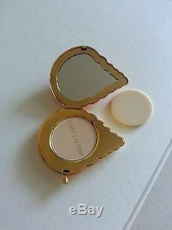 Estee Lauder Coral Shell Compact From The Shore Things Collection. New, Mint