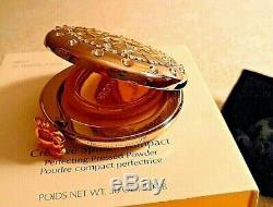 Estee Lauder Creative Spider Powder Compact Shimmering Silk Crystals Web NIB