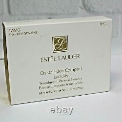 Estee Lauder Crystal Eden Swarovski Crystals Lucidity Powder Compact MIBB